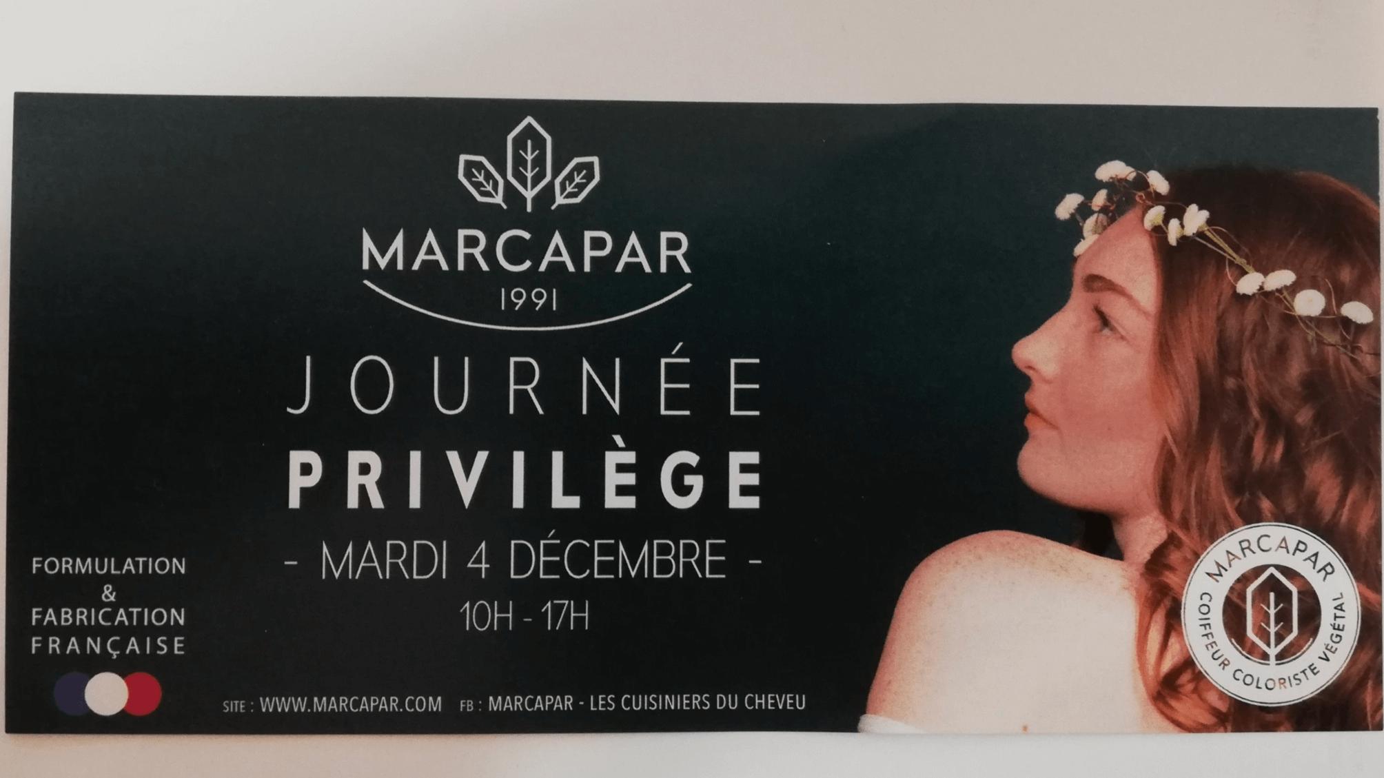Journée Privilège MARCAPAR