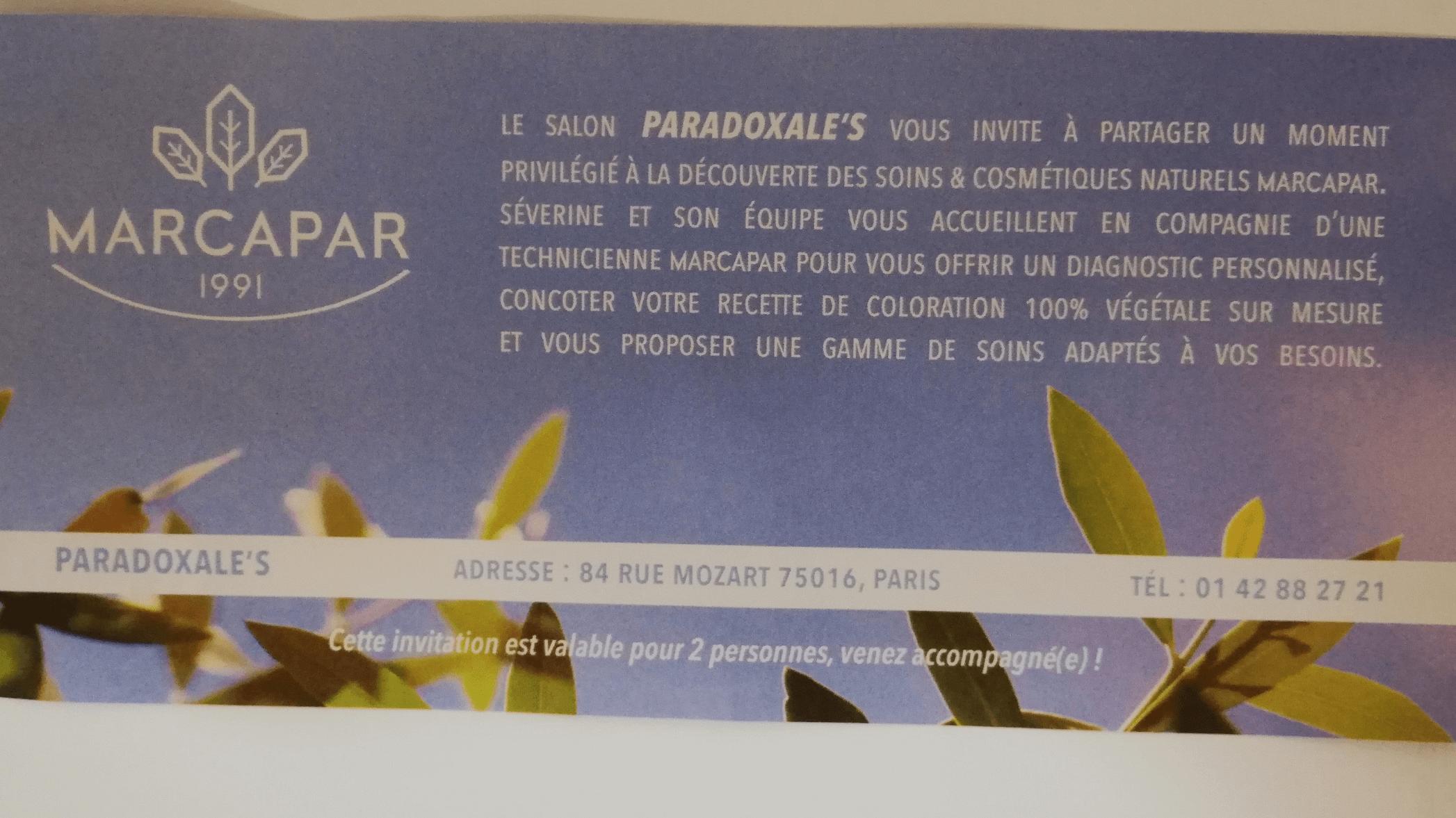Paradoxale's